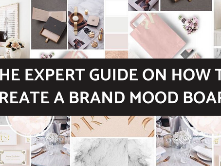 The Expert Guide on How to Create a Brand Mood Board