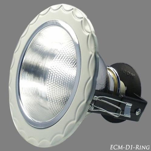 """ดาวน์ไลท์ ECM/D1-Ring 4"""""""