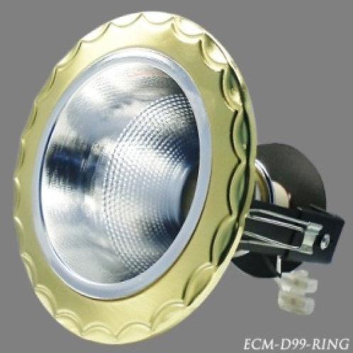 """ดาวน์ไลท์ ECM/D99-Ring 4"""""""