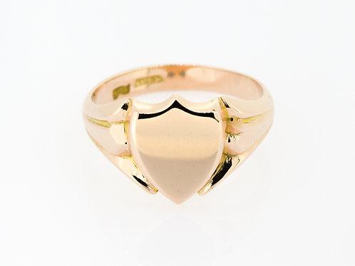 9ct Rose Gold Signet Ring