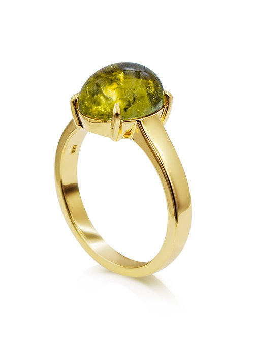 'Juliana' - 9ct Yellow Gold Tourmaline Ring