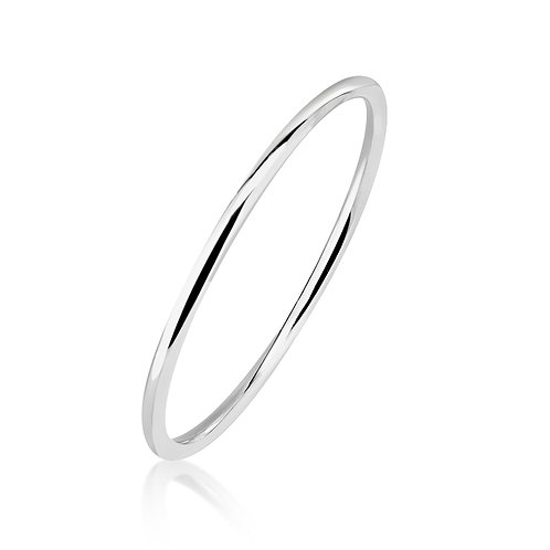 Sterling Silver Round Golf Bangle