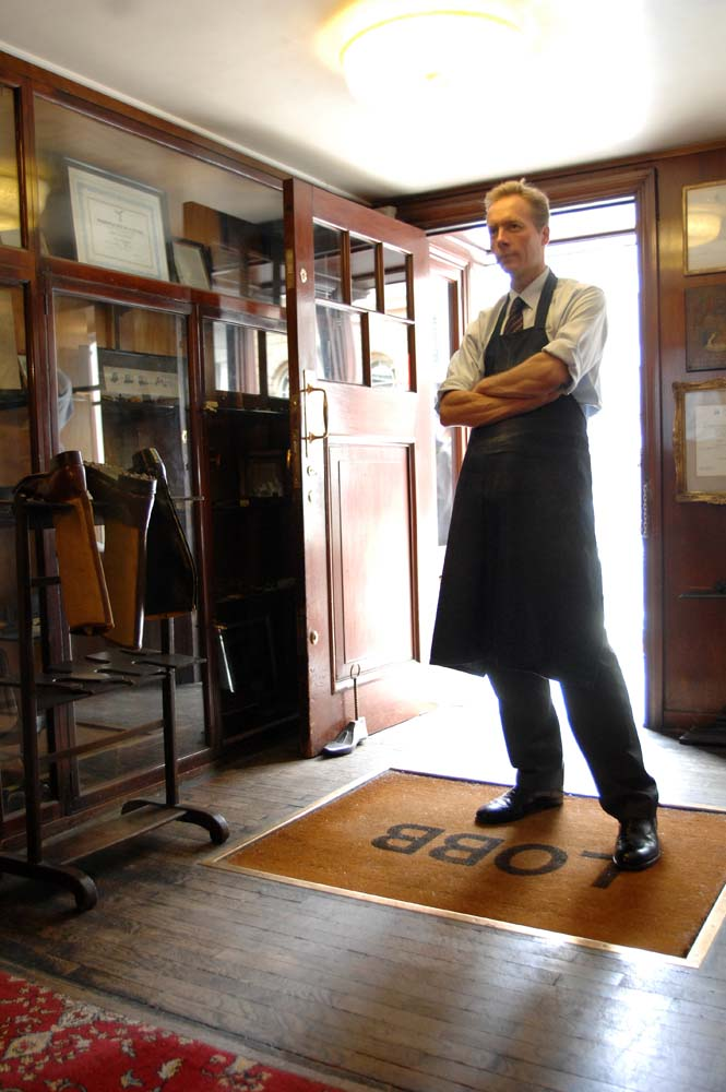John Lobb, cobbler