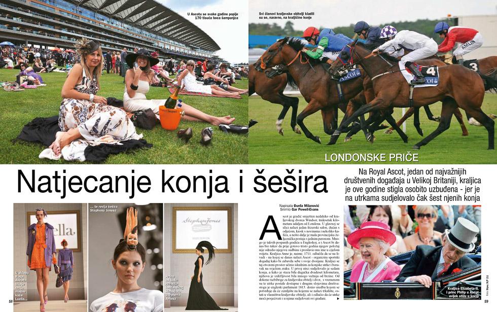 Ascot, Gloria Magazine