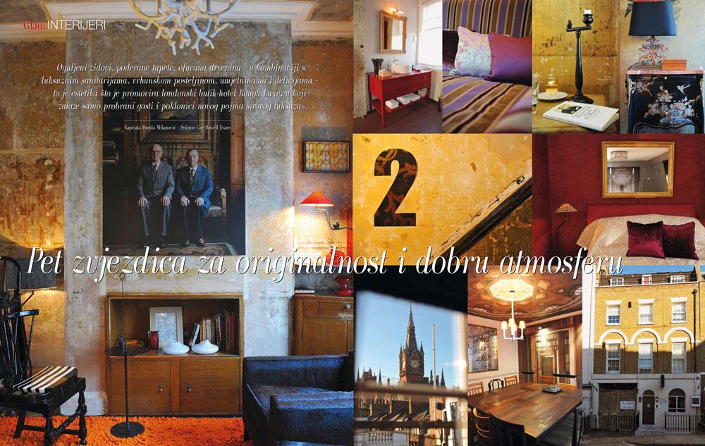 Roughluxe Hotel, GloriaGLAM Magazine