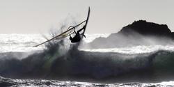 Windsurfer, Oregon coast