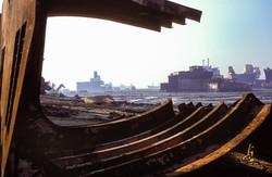 Shipbreaking yards at Chittagong