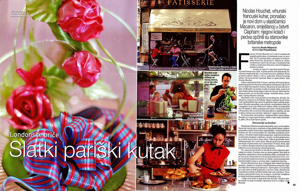 Patisserie Macaron, Gloria Magazine