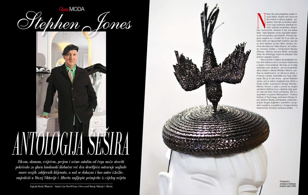 Steven Jones, GloriaGLAM Magazine