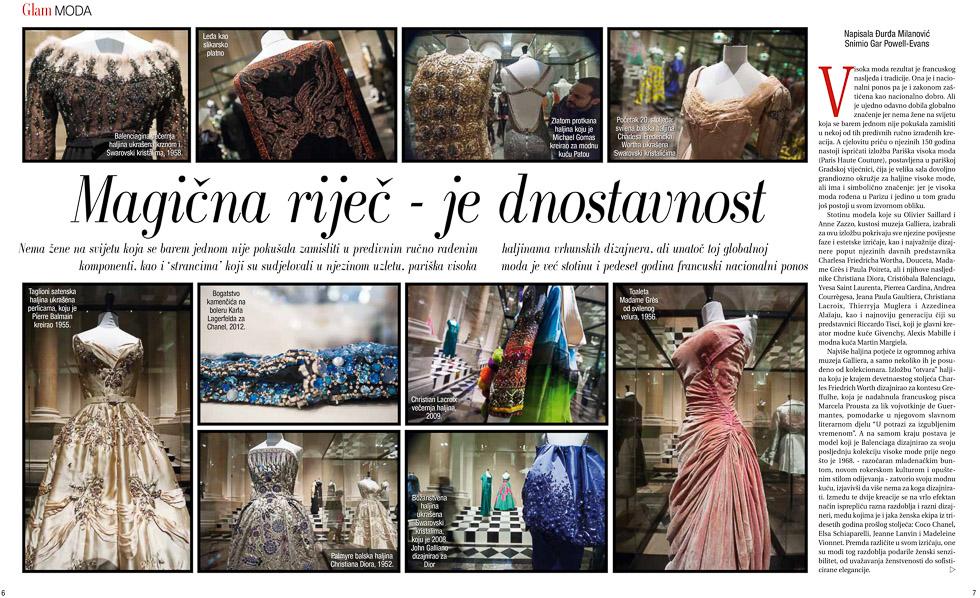 Paris Haute Couture, GloriaGLAM