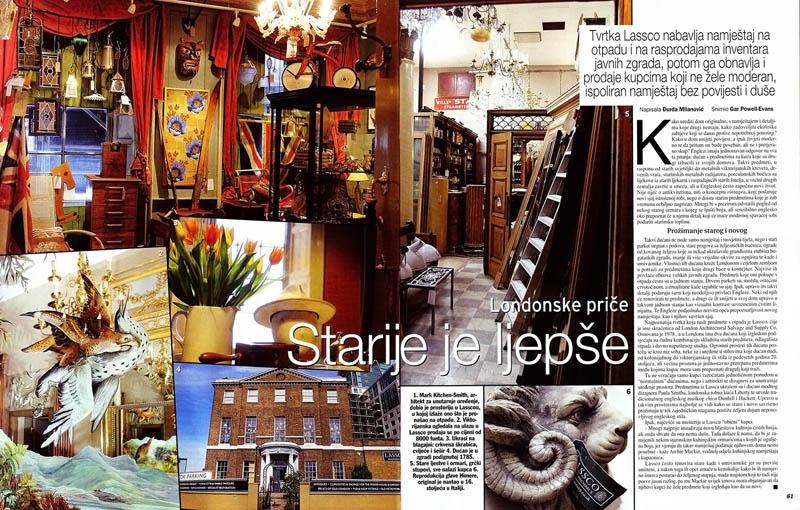 Lassco, Gloria Magazine