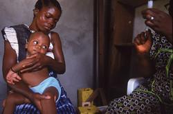 Childhood immunisation, Liberia