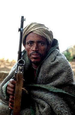 Wehni militia man