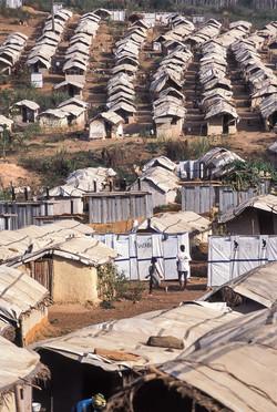 Refugee camp, Liberia