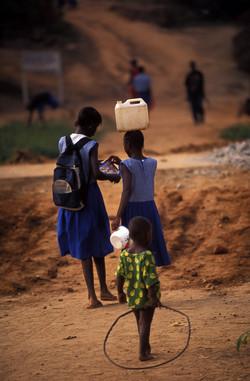 Going to school, Sierra Leone