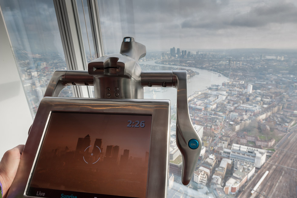View from The Shard, London