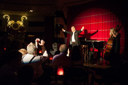 John Standing at Crazy Coqs Cabaret