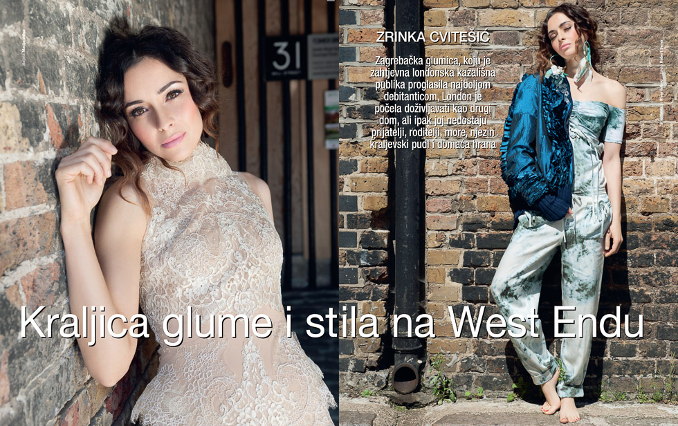 Zrinca Cvitesic, Gloria Magazine