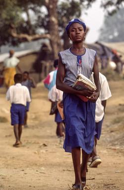 School children, Sierra Leone