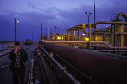 Oil processing plant