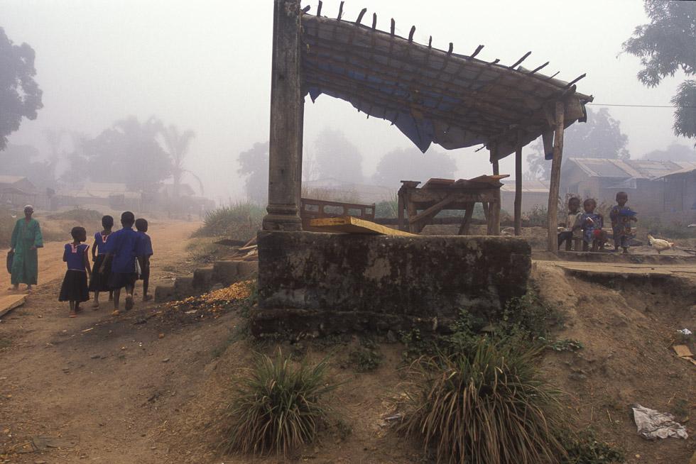 School run, Sierra Leone