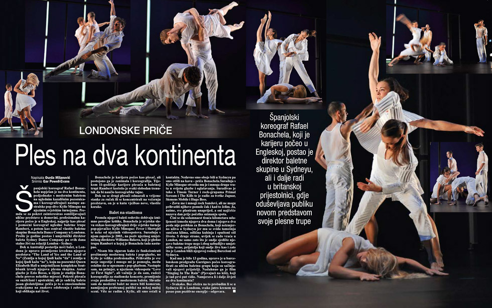 Bonachela, Gloria Magazine