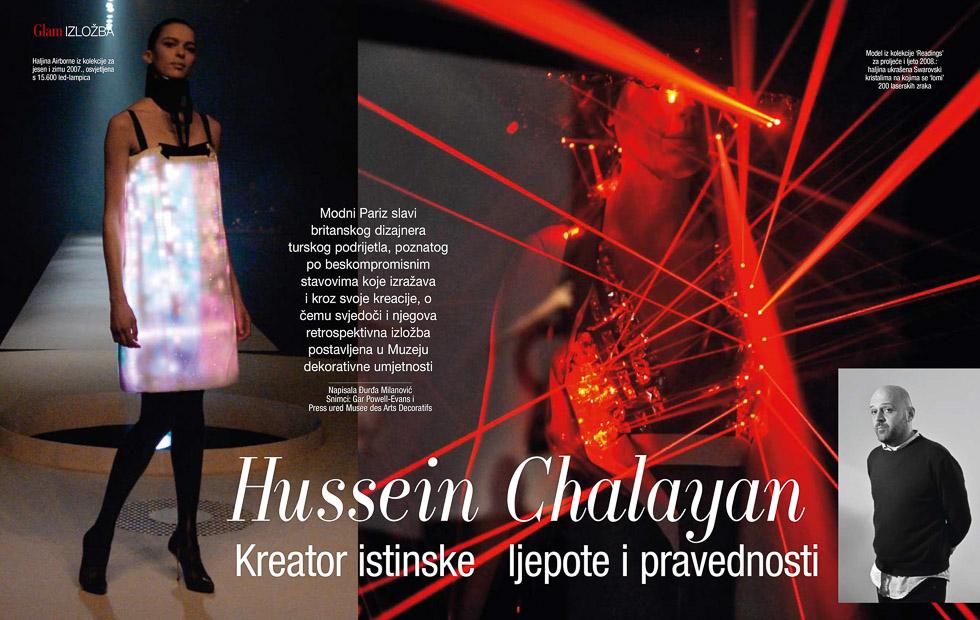 Chalayan, GloriaGLAM Magazine