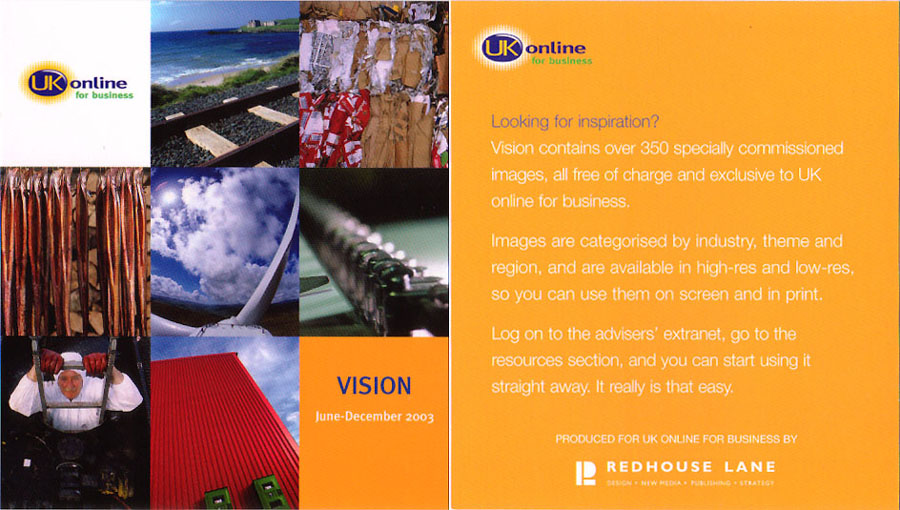 Vision, UKonline for Business