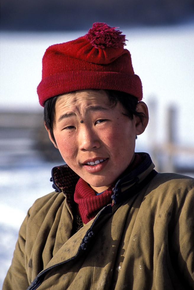 mongolian boy