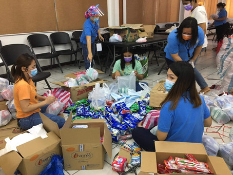 College of Medicine Evince Compassionate Stewardship For Typhoon Victims