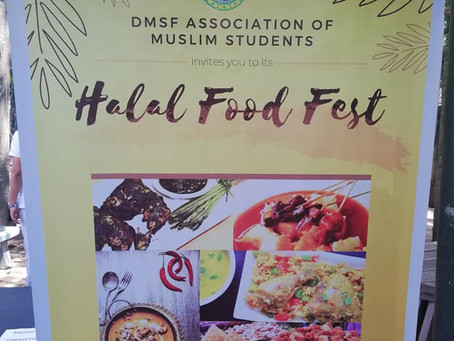 DMSF Association of Muslim Students hold 2nd Halal Food Fest