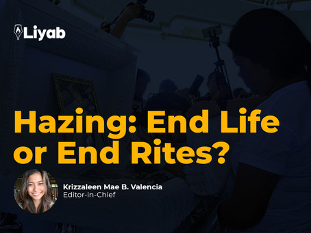 HAZING: end life or end rites?