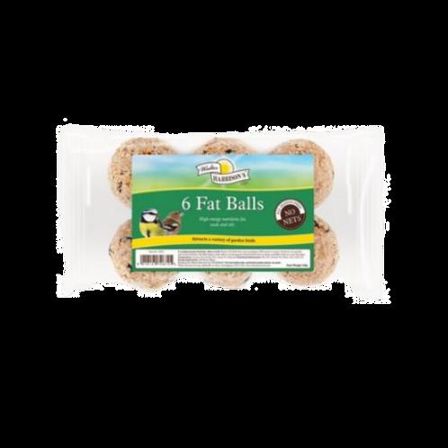 Harrisons Fat Balls No Nets (6Pk) 85g