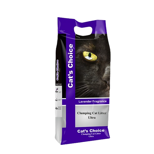 Cats Choice Cat Litter with Lavender Fragrance 5KG