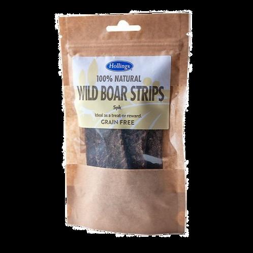 Hollings Wild Boar Strips 5 pack