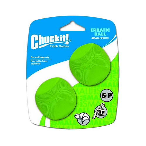 Chuckit Erratic Ball 2 Pack