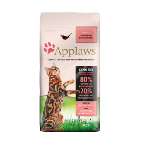 Applaws Adult Dry Chicken with Salmon Cat Food 2kg