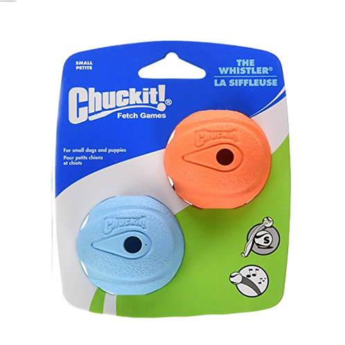 Chuckit The Whistler Ball 2 Pack