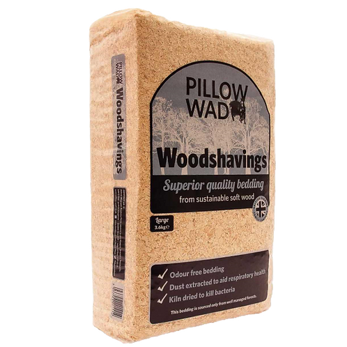 Pillow Wad Shavings 3.6kg