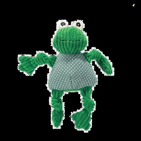 HuggleHounds Frog Knottie