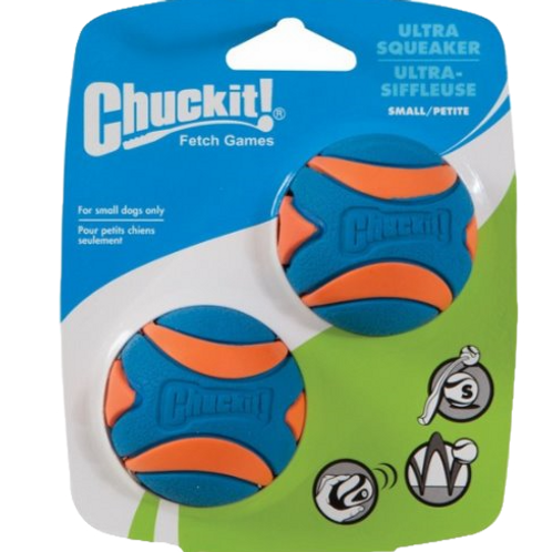 Chuckit! Ultra Squeaker Balls (2 Pack)
