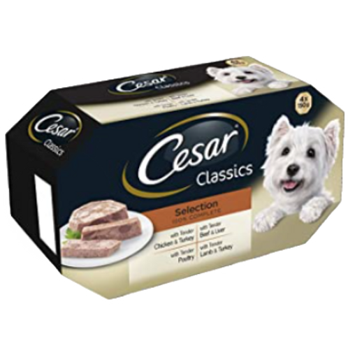 Cesar Classics Selection 4 Pack