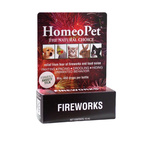HomeoPet Anxiety Thunder/ Fireworks 15ml
