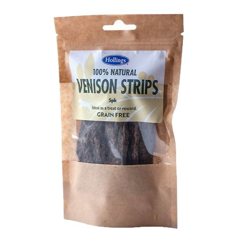 Hollings Venison Strips 5 pack