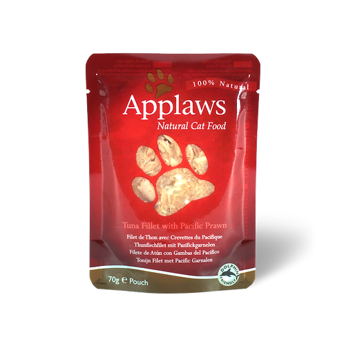Applaws Tuna Fillet with Prawn Pouch 70g
