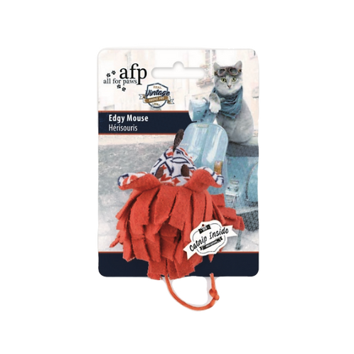 All For Paws Vintage Cat Edgy Mouse