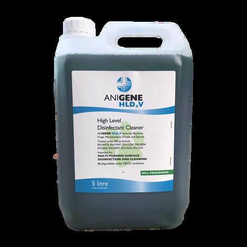 Anigene HLD4V High Level Disinfectant Cleaner 5L