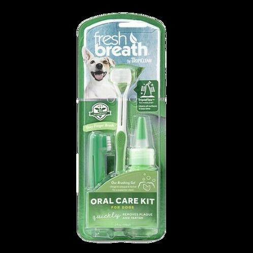 Tropiclean Fresh Breath Dog Dental Kit