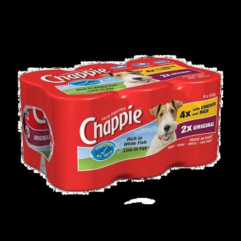 Chappie Favourites (6Pk) 412g