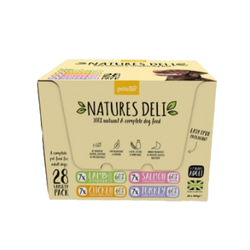 Natures Deli Variety Pack 28 x 400g
